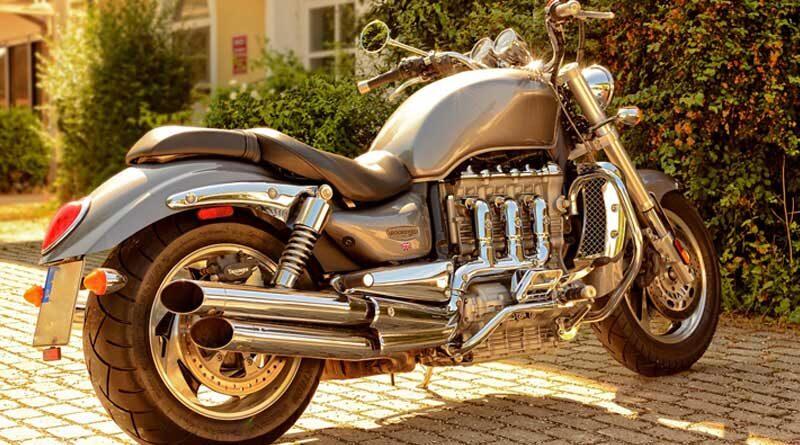 Hot triumph Bike launched